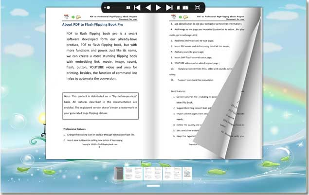 create interesting learning guide of course by pdf to flash flipping