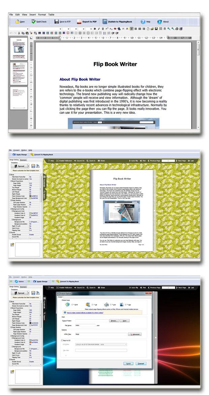 Windows 7 Flash Flipping Book Writer 2.7 full