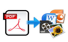 free document converter to convert PDF to word, ppt, swf, images