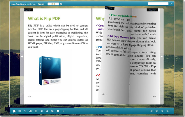 Free Flipping Book Creator full screenshot