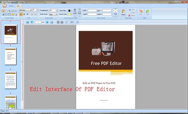 Flashflippingbook PDF Editor Is A Good PDF Tool For Editing