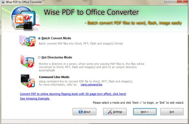 Download free wise pdf to office converter by flashflippingbook ltd v 1 0 software 545552 - Online office to pdf converter ...