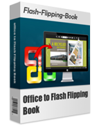 boxshot of Office to Flash Flipping Book