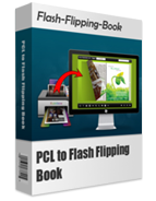 boxshot of PCL to Flash Flipping Book