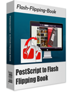 boxshot of PostScript to Flash Flipping Book