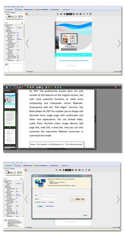 PDF to Flash Flipping Book Pro