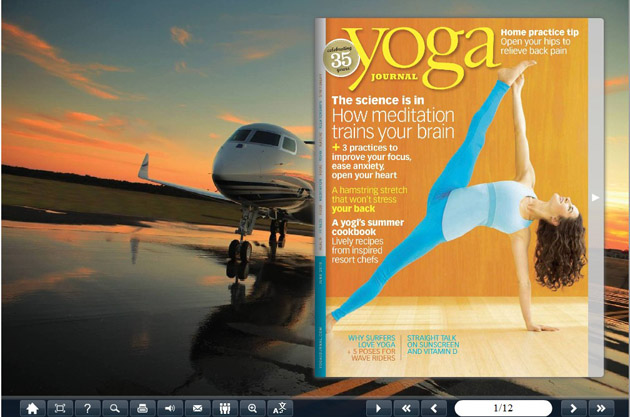 Flipping Book Themes of Plane Style screenshot