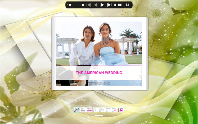 Flipping Book Themes of Romance Style screenshot